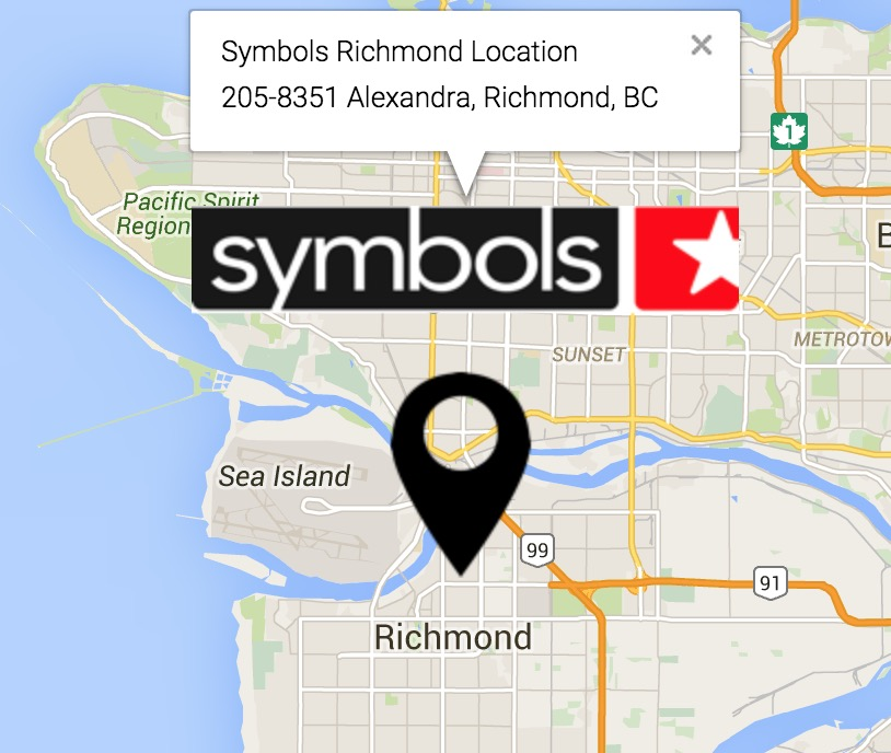 Symbols Richmond Location
